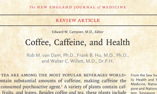 Koffie en thee: onderdeel van een gezonde leefstijl